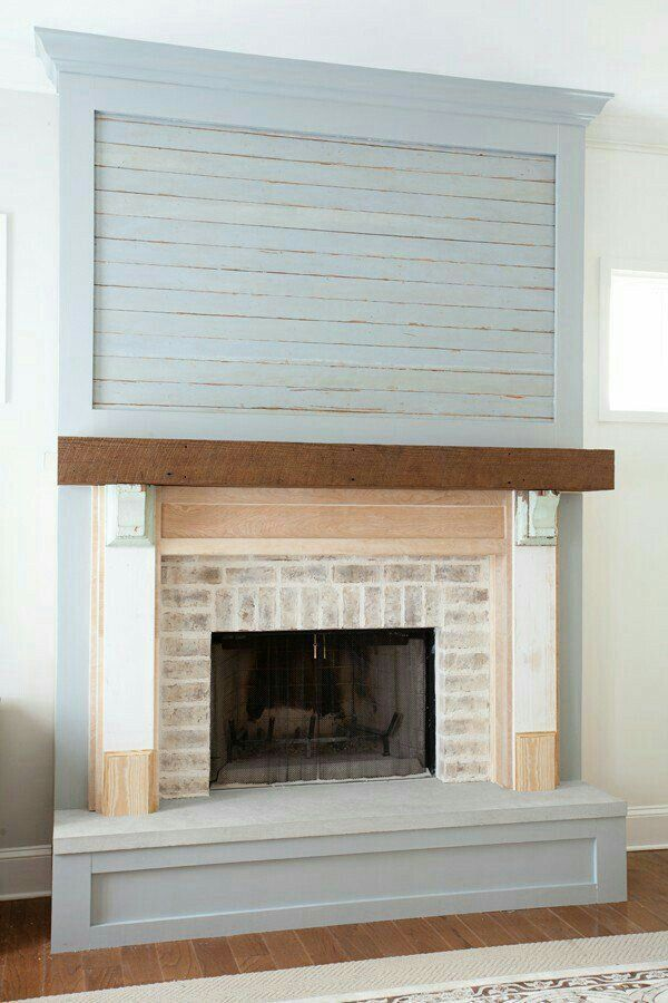 The 25 Best Ideas About Shiplap Fireplace On Pinterest Design Redo And