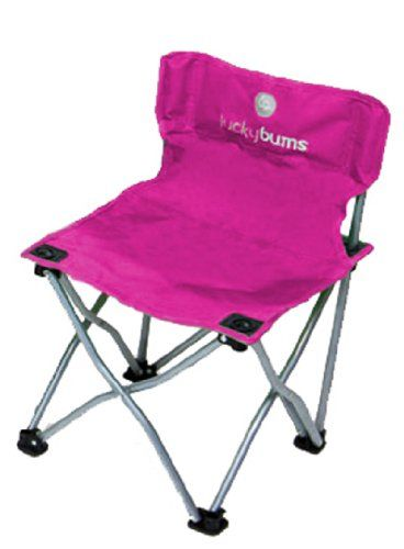 Lucky Bums Lightweight Foldable Durable Compact Kids Camp Chair, Pink -- Check this awesome product by going to the link at the image.