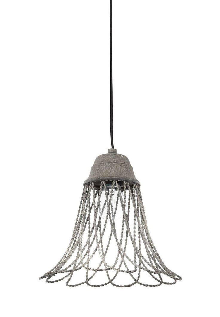 Fresh Lightmakers BEVERLY Deckenlampe cement grey