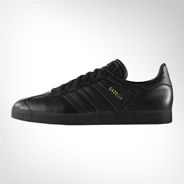 Women's adidas Gazelle Black Leather Shoe