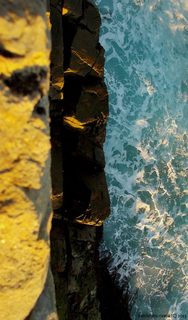 Las Terrazas, Los Molles, Chile, South America. Ocean photography.