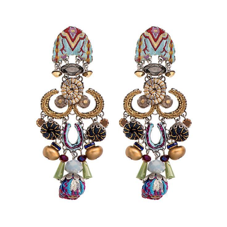 Golden Dawn Tree Earrings Ayala Bar Hip Collection Summer 2016