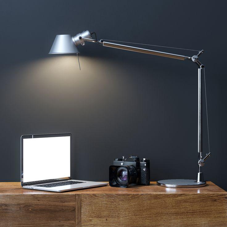 Desk Lamp On Desk