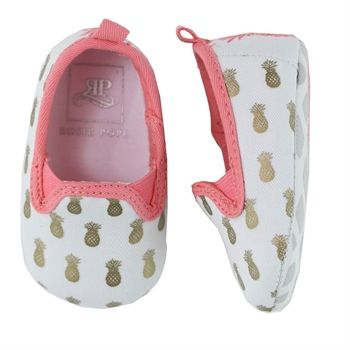 Rosie Pope Girls Crib Pineapple Mania Shoe