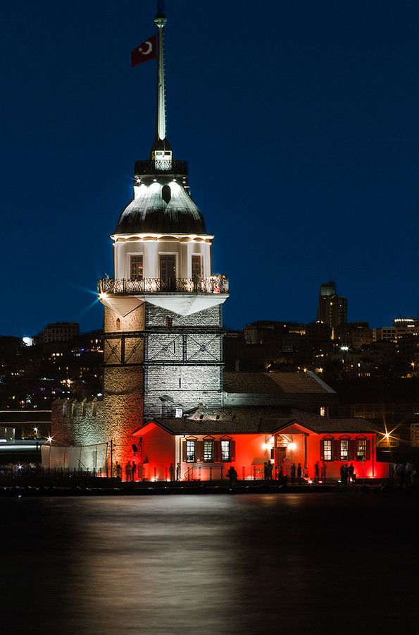 """Maiden Tower"" Istanbul by e&e via 500px"