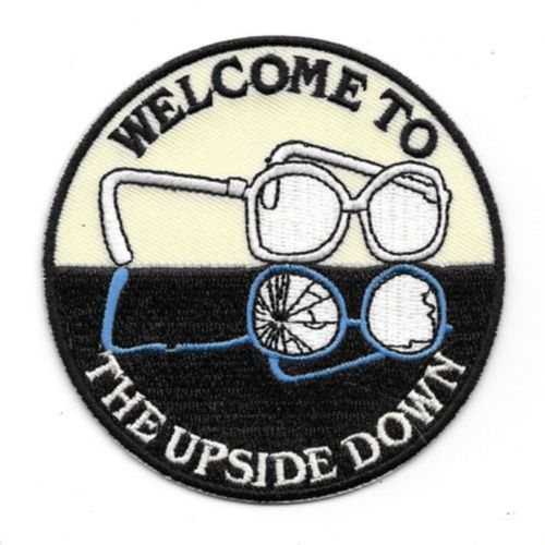 Patch Stranger Things TV Series Welcome To The Upside Down Iron On Embroidered