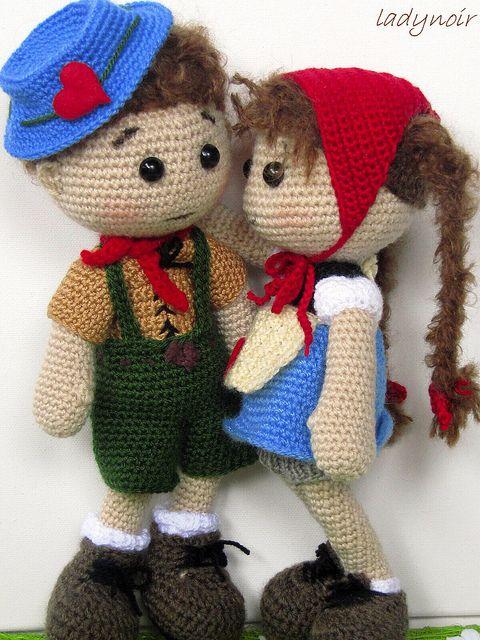 Hans and Gretel by ladynoir63, via Flickr