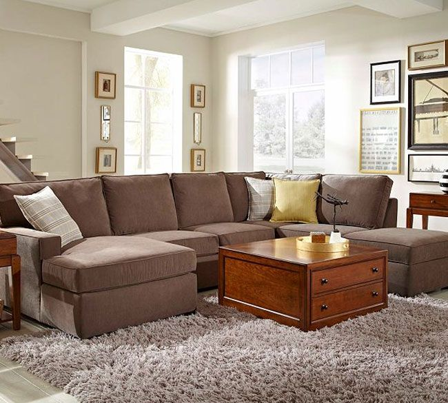 Broyhill Furniture Raphael Contemporary Sectional Sofa With LAF Corner  Storage Chaise   Hudsonu0027s Furniture   Sofa Sectional Tampa, St Petersburg,  Orlando, ...