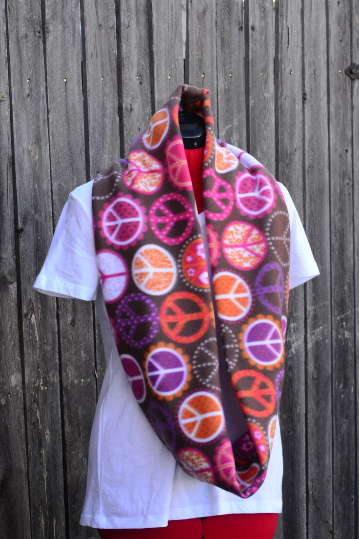 15 best Fleece Scarves - Scarftastic Creations images on ...