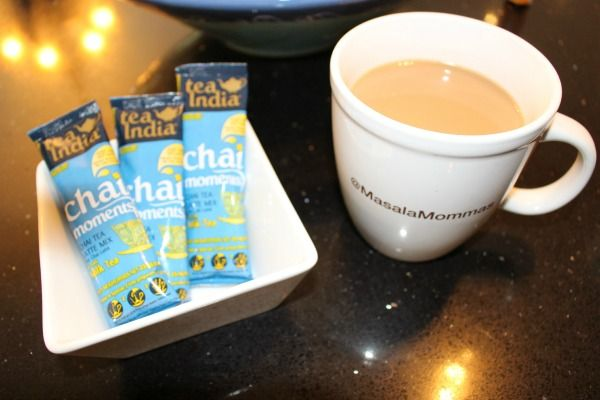 A review of TeaIndia's Chai Moments Milk Tea looking at taste its comparison to to traditional Indian milk tea.