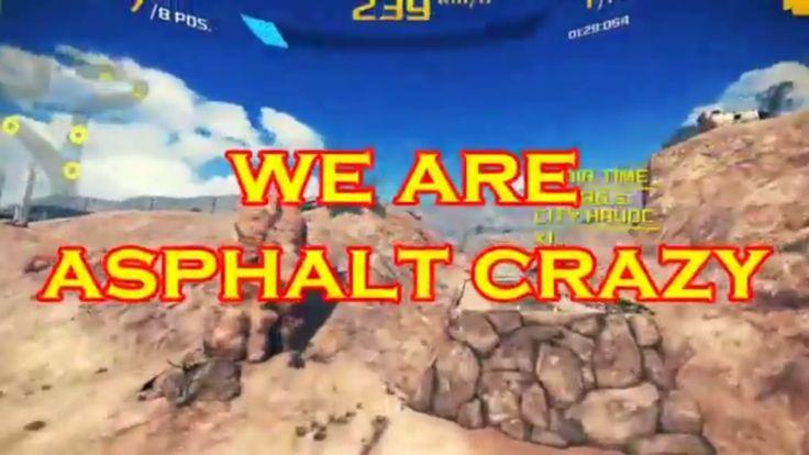 INTRO TO ASPHALT CRAZY YouTube channel: Asphalt 8 based