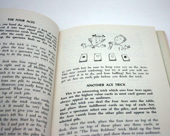 Vintage 101 Best Magic Tricks book.