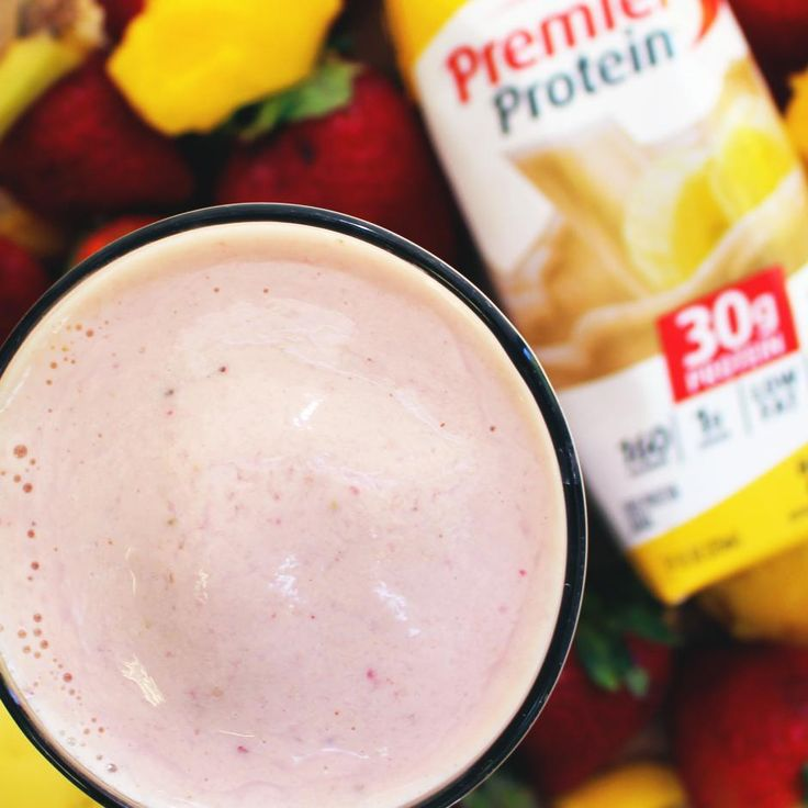 Strawberry Mango Protein Smoothie | premierprotein.com