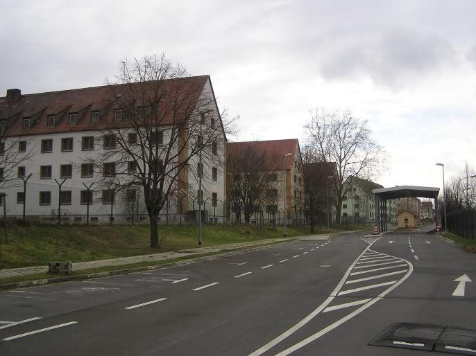 Abanoned US Military Base, Marshall Heights, Kitzingen, Germany