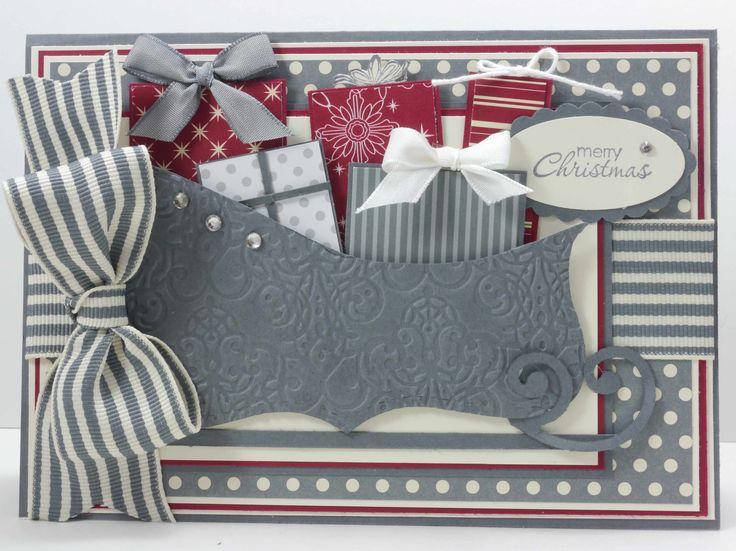 Stampin' Up! Sleigh Schlitten Weihnachten Top Note
