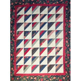 Jelly roll quilt...Roman Stripes