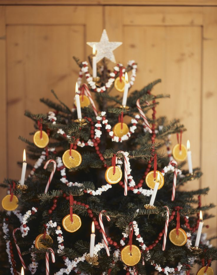 Victorian Christmas Tree Garland Merry Christmas And Happy New