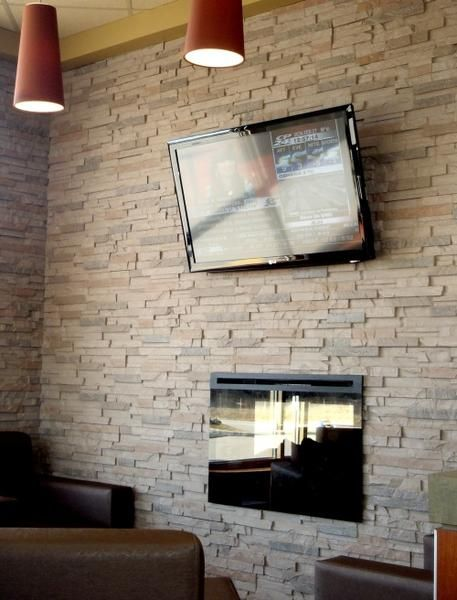Faux brick panels interior stone wall panels faux for Brick stone siding