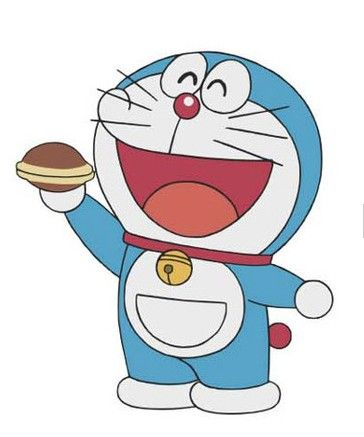 Doraemon - for drawing on birthday card 2014