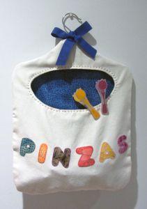 Bolsa para broches o pinzas de ropa