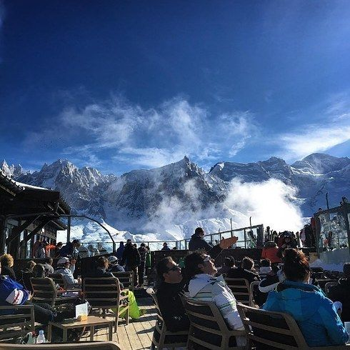 Le Panoramic in Chamonix-Mont Blanc, France.   16 Once-In-A-Lifetime Restaurants Everyone Should Eat At