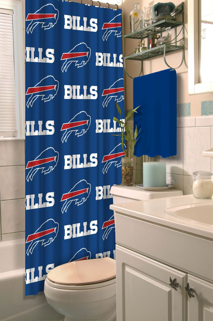 NFL Bills Shower Curtain
