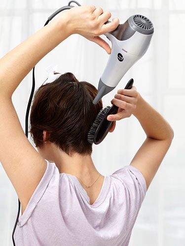 Blow-Drying Tips - How To Blow Dry Your Hair Like a Pro - Redbook