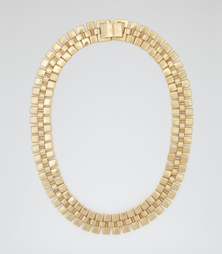 Womens Gold Chain  Necklace - Reiss Meadow