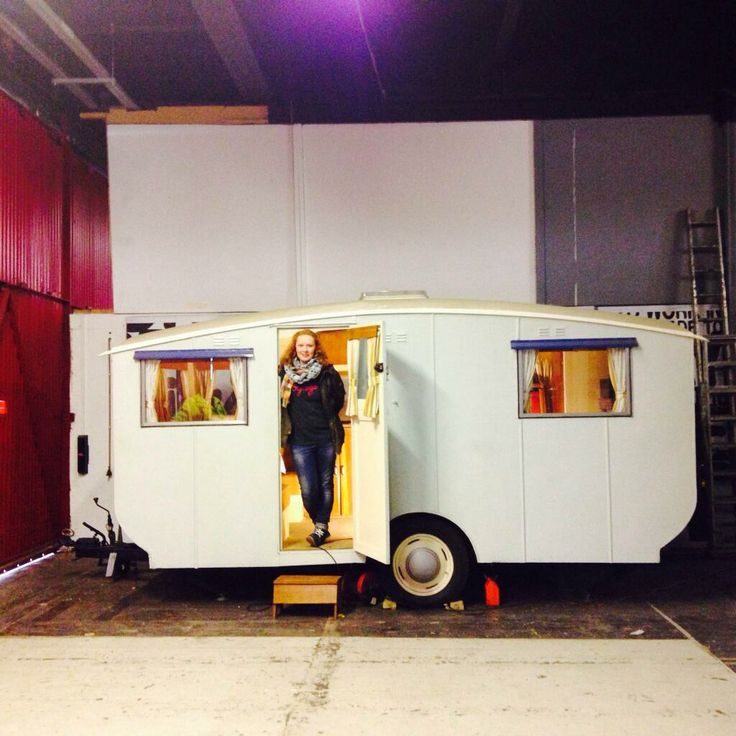 Practical Caravan's Clare Kelly steps inside the oldest surviving Bailey Caravan at the M-Shed in Bristol