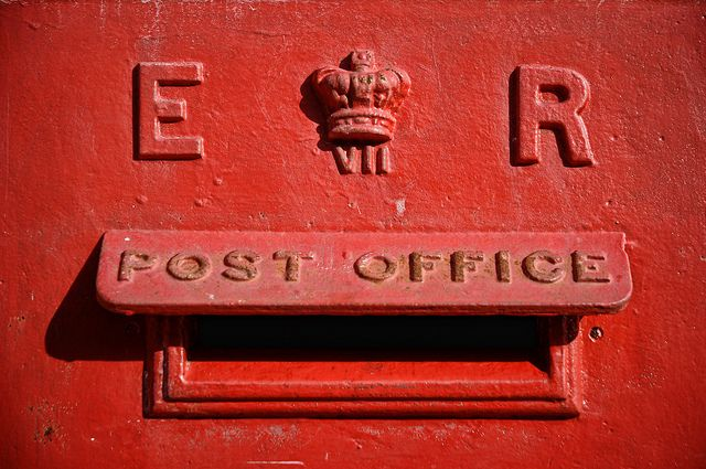 UK - Oxford - Post Box