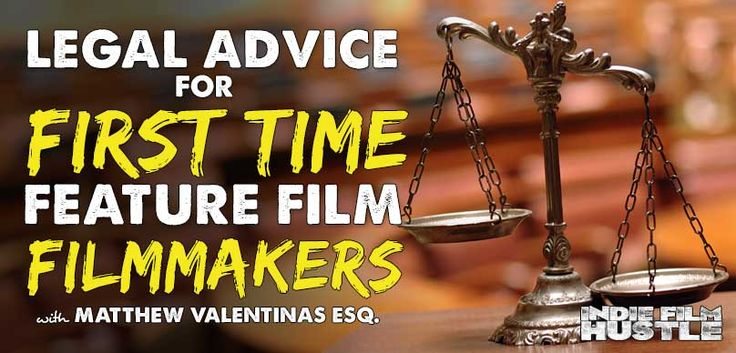 If you're a indie filmmaker attempting to make your first feature film you should get some legal advice first. We have Matthew Valentinas who share his...