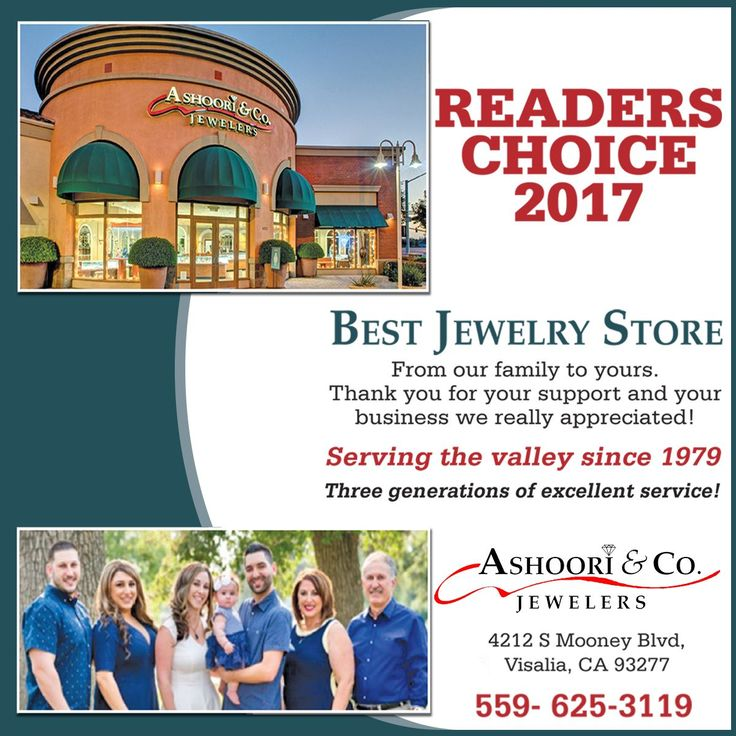 We won BEST Jewelry Store by Readers Choice!  #BestJewelryStore #ReadersChoice2017 #FineJewelry #EngagementRings #Diamonds #DiamondJewelry #FamilyStore #ShopLocal