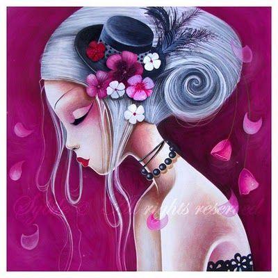 art by benjamin lacombe   El Mundo De Fawn: El arte de Sybile