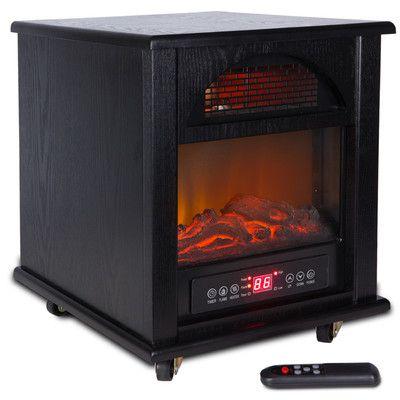 Della Portable 1500 Watt Electric Heater
