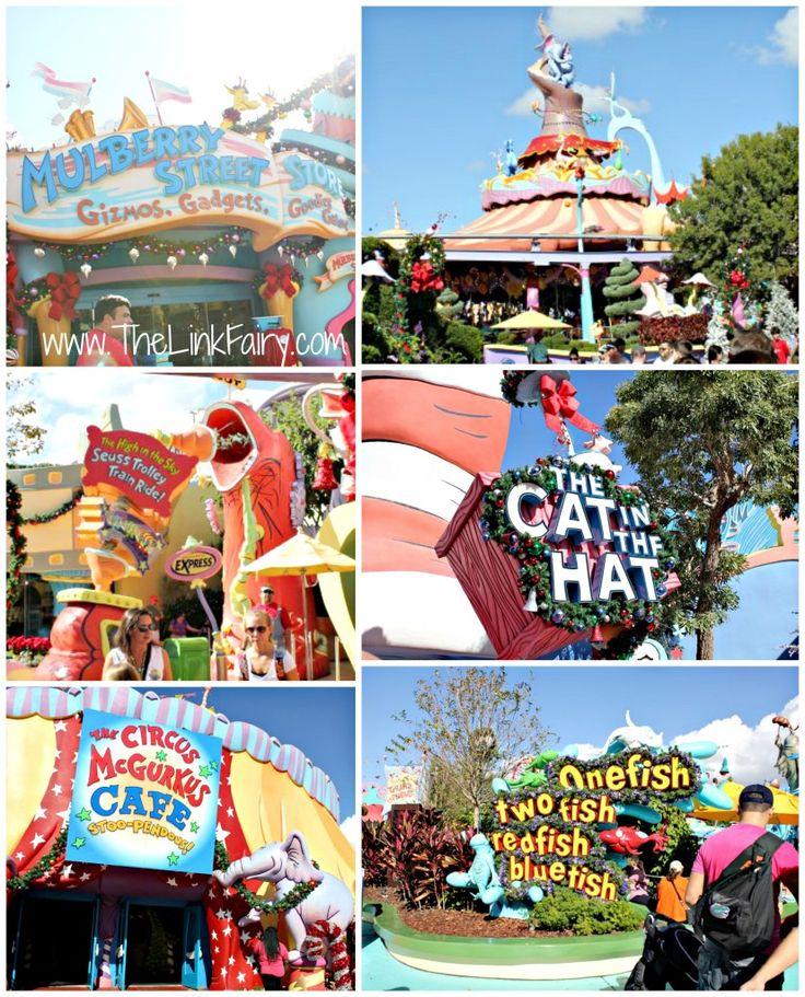 Seuss Landing at Universal Studios FL #UniversalHolidays