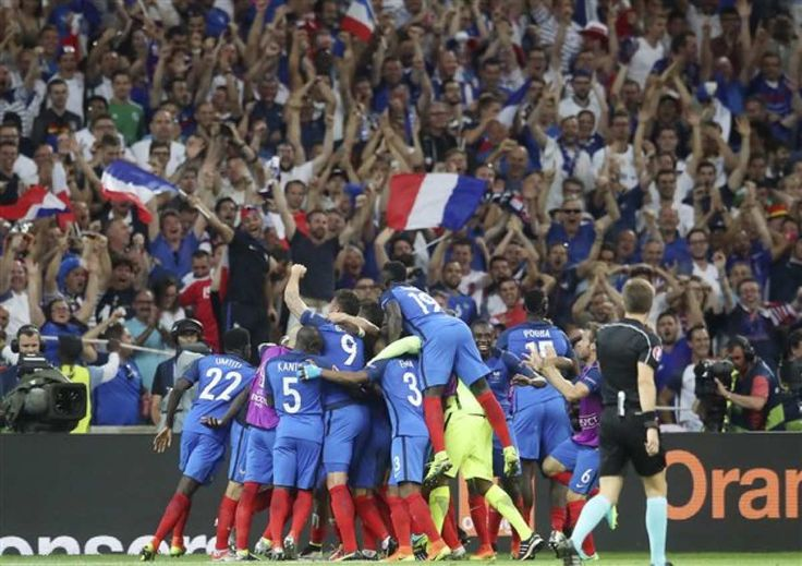 EURO 2016 / β' ημιτελικός: Γερμανία – Γαλλία (0 – 2)