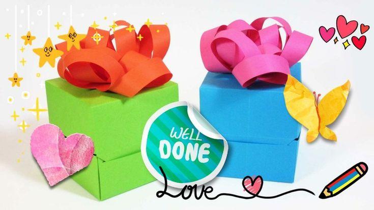 Cajas de papel para regalo de cumpleaños o Navidad