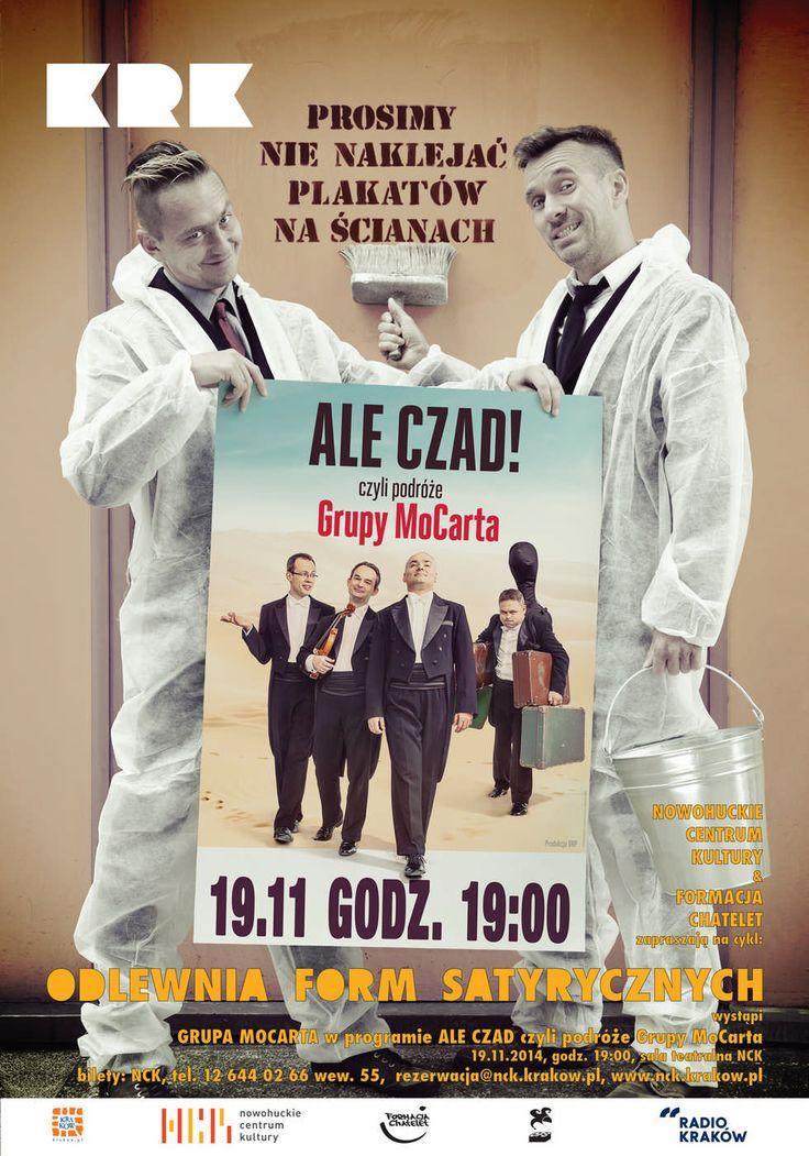 Grupa MoCarta  19.11.2014, godz. 19.00  http://www.nck.krakow.pl/images/aktualnosci/2014/11/19_mocarta/poster.jpg
