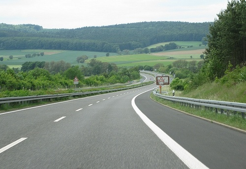 Autobahn - Germany vs USA - YouTube
