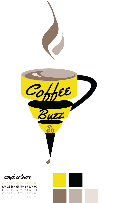 Coffee Buzz logo  CMYK Colours