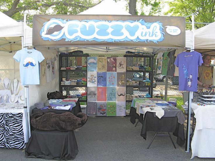 Ballston Arts Market: Fun Booth Displays!