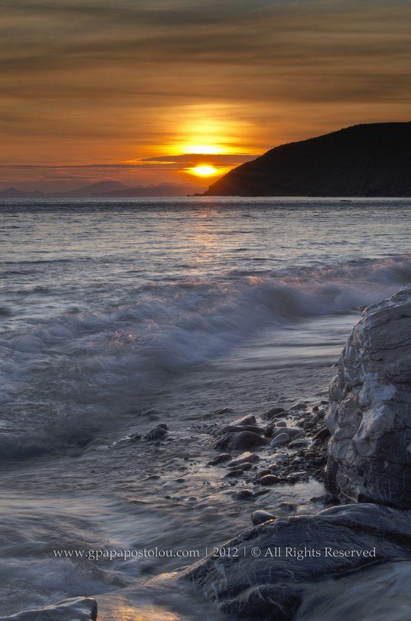Waves & Sunset, Kos, Greece