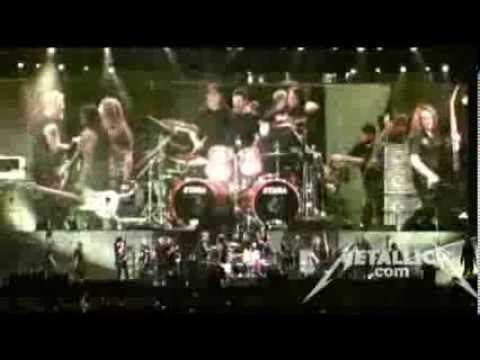 Metallica: Blackened & Overkill (MetOnTour - New York, NY - 2011) cool souncheck footage at the beginning (the whole episode is about a half hour long)