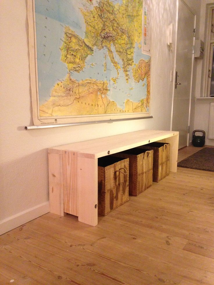 Homemade bench