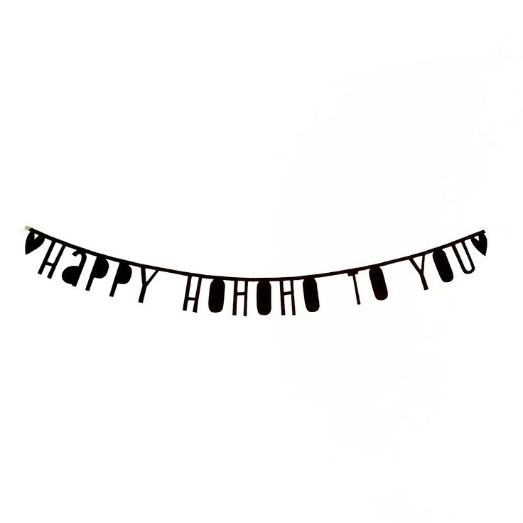 #Wordbanner #tip: Happy #hohoho to you - Buy it at www.vanmariel.nl - € 11,95