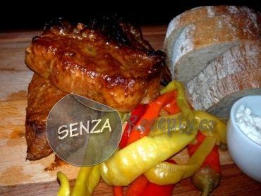 Marinovaná pečená vepřová žebra - Marinated Roast Pork Ribs