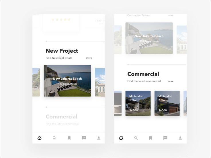 Properties app 2 by adiatma bani #Design Popular #Dribbble #shots