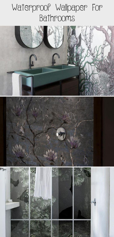 Waterproof Wallpaper For Bathrooms Bathroom in 2020