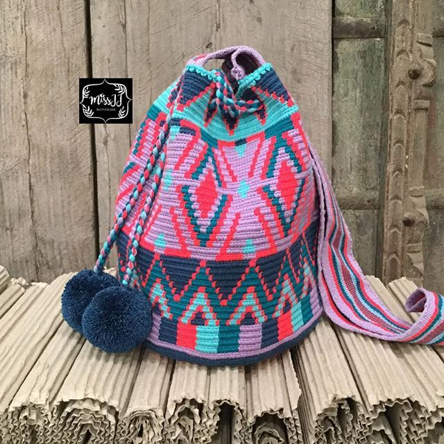 Wayuu Mochila bag #wayuuchic #tribal #unique