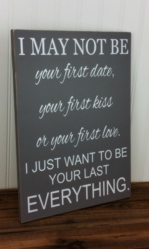 Anniversary Gift For Men Women Her Him Valentine S Day I May Not Be Your First No Marriage Line Ideas